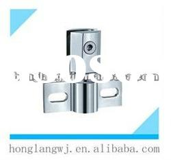 Stainless Steel 360 Degree Moveable Glass Door Hinge For Bathroom HL-A-801B