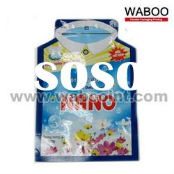 Stand Up Pouch with Zipper Plastic Bag
