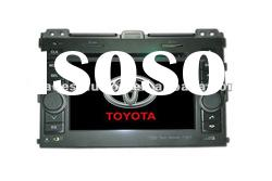 Toyota Prado Car DVD Player with Built in GPS Bluetooth ipod Steering Wheel Control HD Screen