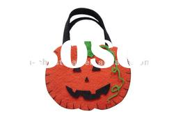Unique flet Halloween pumpkin Bag/Halloween items