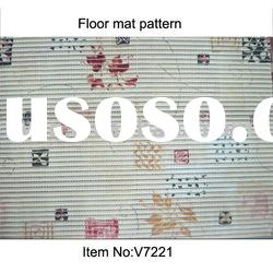 V7221 Vinyl Floor Mats,PVC floor carpets for floor decoration