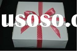 White paper gift boxes