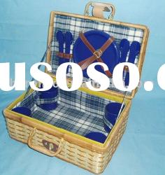 Willow picnic basket for 4 persons(SBA-3678)