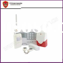Wireless GSM Home Burglar Alarm with LCD Display and SMS Alert/Control