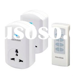 Wireless Remote control socket with universal plug TW68C 1V2