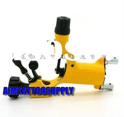 Yellow rotary tattoo machine dragonfly new dragonfly tattoo machine adjustable