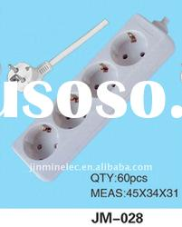 Yiwu No.1 electrical plug sockets flush type wall socket JM-028