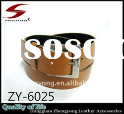 ZY-6025 Mens PU Leather Belts with High Quality