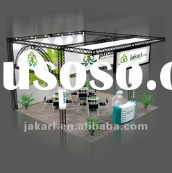 (6m*6m) fast assemble portable exhibition booth