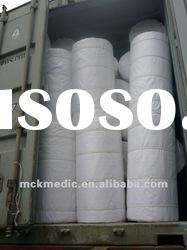 absorbent bleached hydrophilic medical 100% cotton gauze roll
