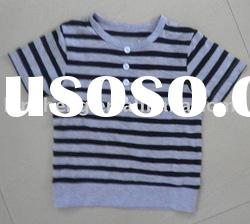 baby cute 100%cotton knitted t-shirts, baby clothes