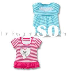 baby cute knitted cotton t-shirts, baby clothes