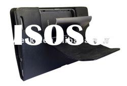 back stand PU leather case for Asus padfone mobile phone and tablet