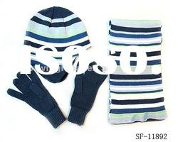 best-selling hat gloves scarf suit