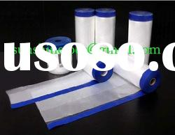 blue UV resistant paper tapes with plastic film