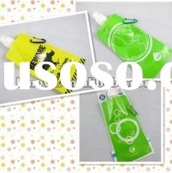 clear plastic drinking bottles