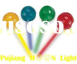 colorful glow lollipop stick made in china