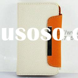 credit card ID card leather wallet case for galaxy S i9100