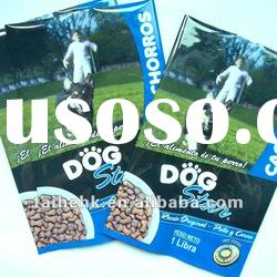 customized LOGO pet food bag/middle sealed pet food bag/dog food plastic bag
