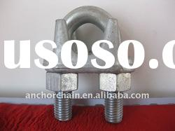 drop forged wire rope clips US type