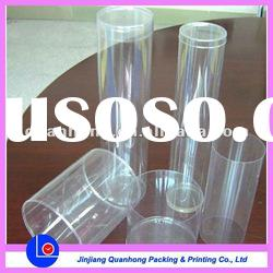 durable clear plastic round box for pants