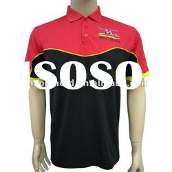 embroidery logo polo shirts for men