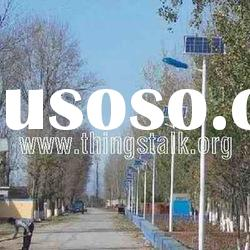 energy saving solar led street lighting system