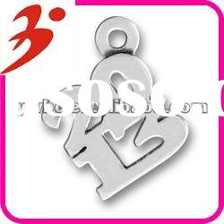 fashion alloy antisilver plated 2013 charm jewelry pendant (185422)