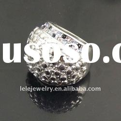 fashion big stainless steel rings jewellery