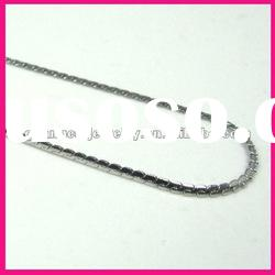 fashion s shape stainless steel link chain mens necklace