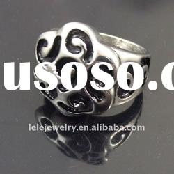 fashion stainless steel rings jewelley