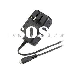 folding pin travel charger for blackberry micro usb 8900 8520 9700 9800