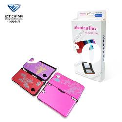 for NDSIXL transparent case of Plastic Aluminum Box With Photo