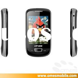 gsm M55700 dual sim card big touch java mobile phone