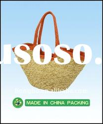 high-grade wheat straw beach bag