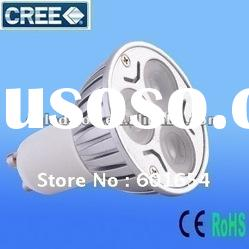 high power GU10 LED spot light 9w dimmable