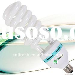 high power half spiral energy saving lamp