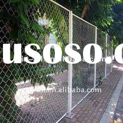 hot dipped galvanized Chain Link Fencing mesh size 3""