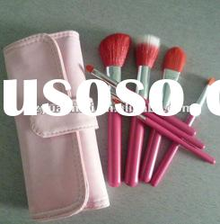 hot sell makeup brush set with pink case , OEM./ODM are avalable