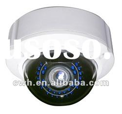 "indoor dome camera of 420tvl ir day/night and Color 1/3"" SONY CCD"