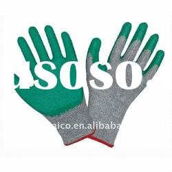 industrial coated working safety glove nitrile working protective gloves