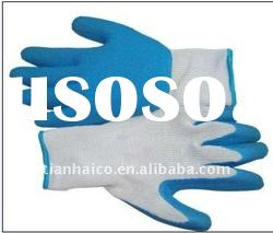 industrial latex coated working safety gloves