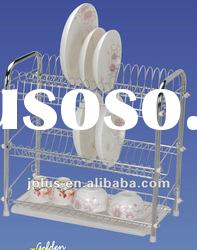 kitchen dish rack with tray