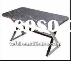 latest marble dining table,granite top dining table,metal dining table