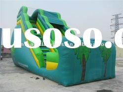most exciting wet and dry inflatable slide sports games with best price and high quality