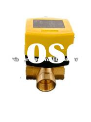 motorized brass ball valve for air conditioning