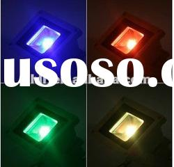 multicolor RGB Outdoor 12volt 30watt Remote control outdoor led flood light