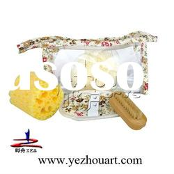 new style bath product set in PVC bag