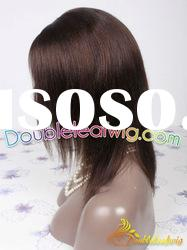 no-glue lace Indian remy human hair lace wig in stock