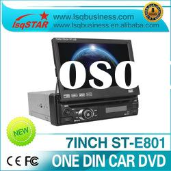 one din car dvd player with gps+bluetooth+rds+radio+tv+sd+usd hot selling